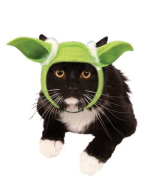 Yoda Ohren für Katzen Star Wars