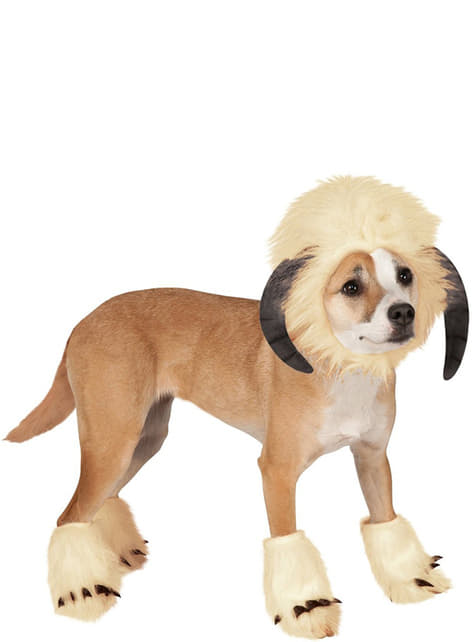 Dogs Wampa Star Wars costume