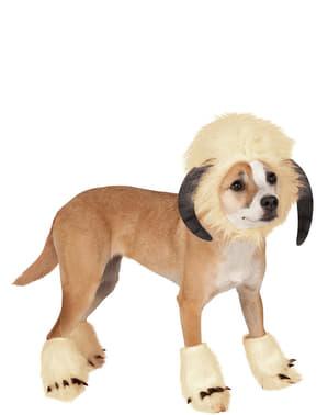 Dogs Wampa Star Wars costume