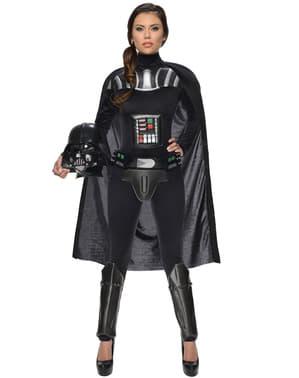 Sieviešu Darth Vadera Zvaigžņu karu kostīms
