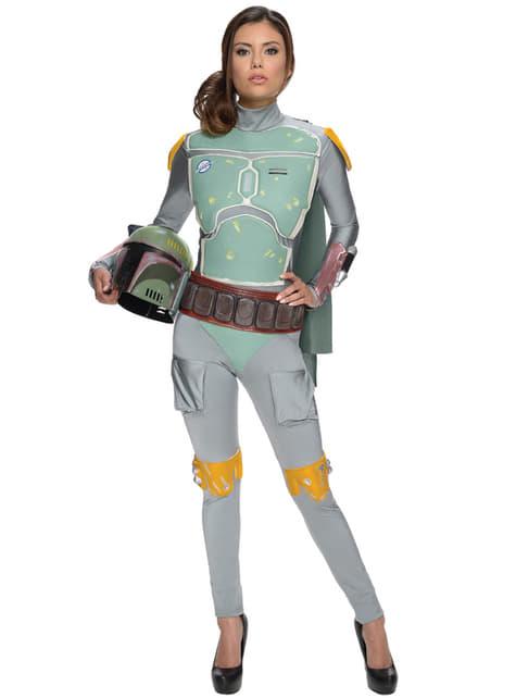 Disfraz de Boba Fett Star Wars para mujer
