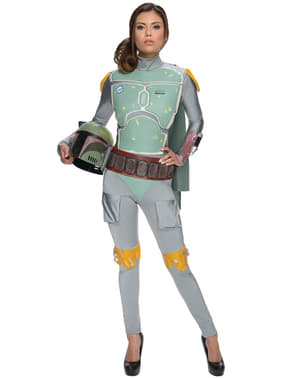 Strój Boba Fett Star Wars damski