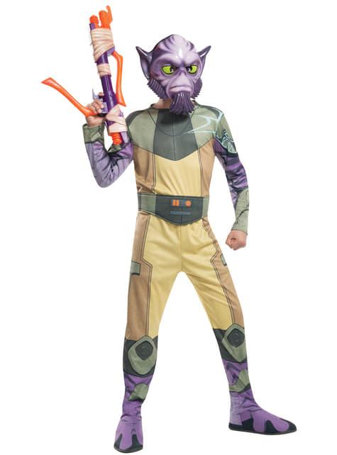 Disfraz de Zeb Orrelios Star Wars Rebels para niño