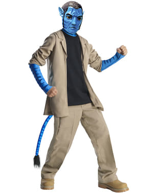 Chlapecký kostým Jake Sully (Avatar) deluxe