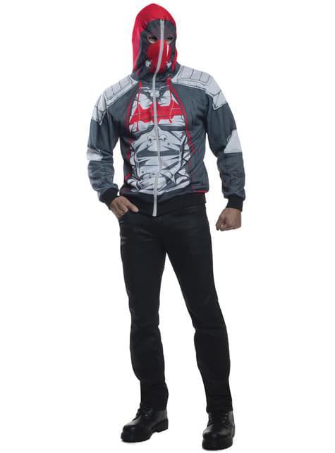 Mens Red Hood Arkham franchise jacket
