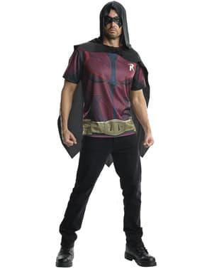 Robin Kostüm Set für Herren Arkham Lizenz