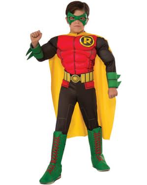 Déguisement Robin enfant deluxe