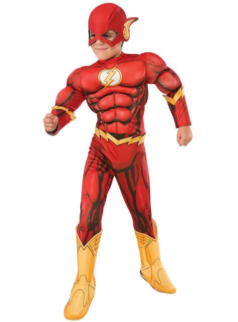 Fato de Flash deluxe para menino