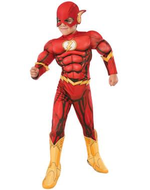 Costume Flash deluxe bambino