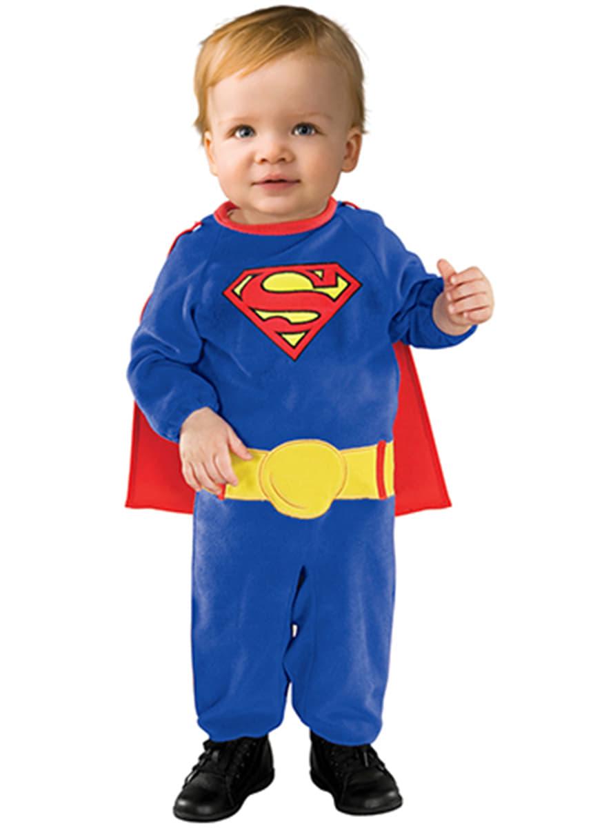 superman kost m f r babys funidelia. Black Bedroom Furniture Sets. Home Design Ideas