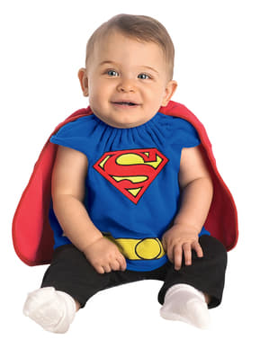 תחפושת תינוקות תינוק סופרמן