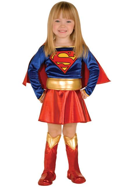 Disfraz de Supergirl original para niña
