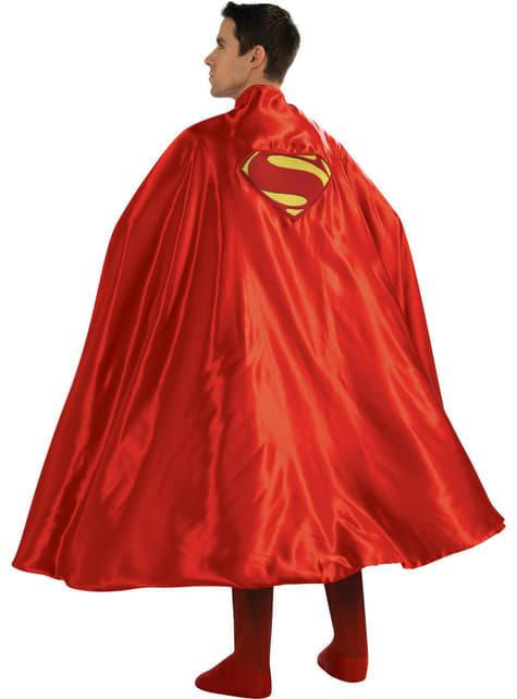 Capa de Super-Homem deluxe para homem