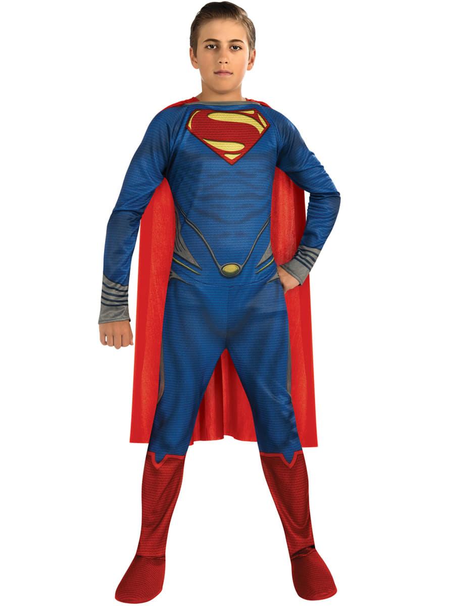 Childrens brave Superman costume. Detalle Zoom  sc 1 st  Funidelia & Childrens brave Superman costume. The coolest | Funidelia