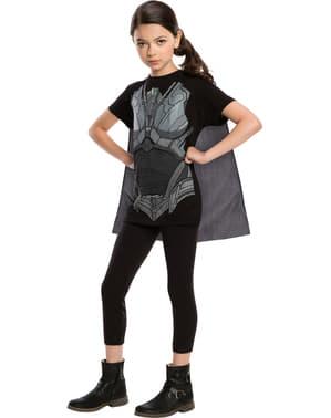 Girls Faora Superman Man of Steel costume kit
