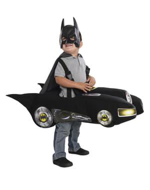 Fato de Batmóvel para menino