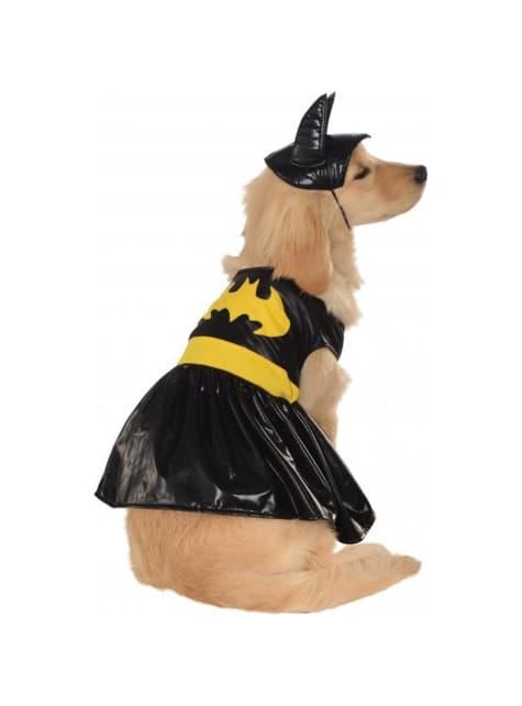 Disfraz de Batgirl para perro