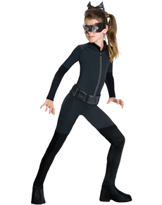 Catwoman Kostüm für Mädchen Gotham