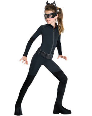 Kostým Catwoman Gotham pre tínedžerov