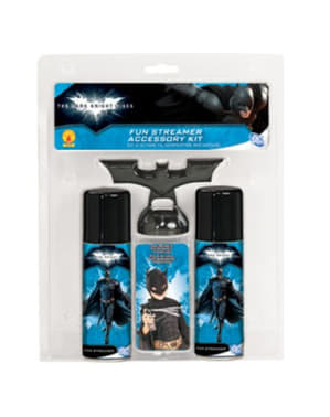 Kit stelle filanti spray Batman