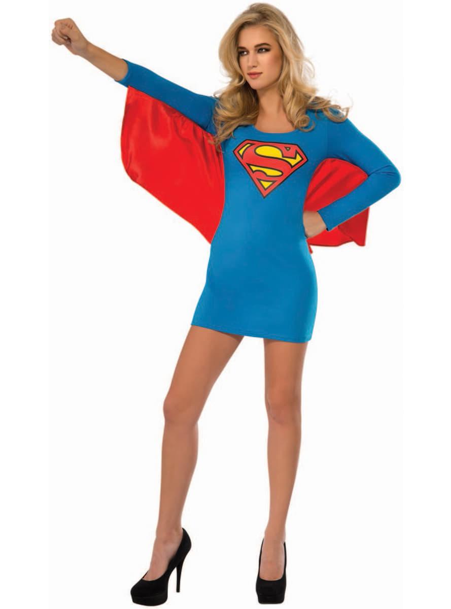 Womens Supergirl costume dress. Detalle Zoom  sc 1 st  Funidelia & Womens Supergirl costume dress. The coolest | Funidelia