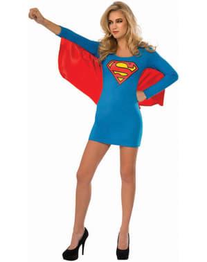 Jurk kostuum Supergirl voor vrouw