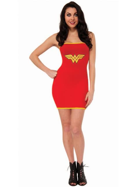 Vestido disfraz de Wonder Woman sexy para mujer
