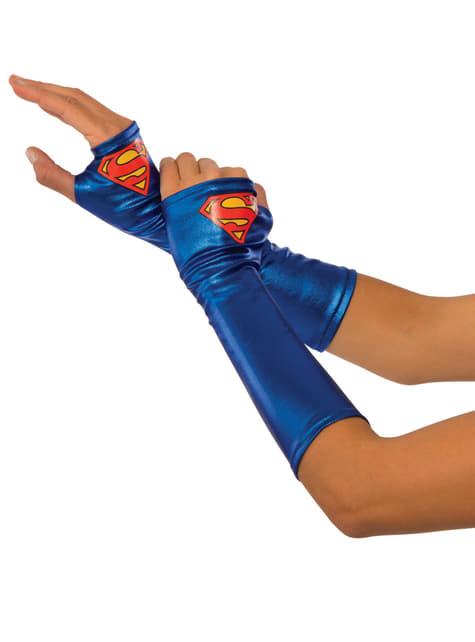 Womens Supergirl gloves