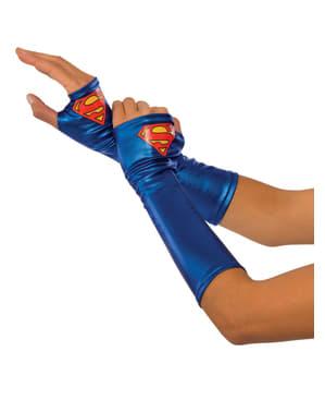 Luvas de Supergirl para mulher