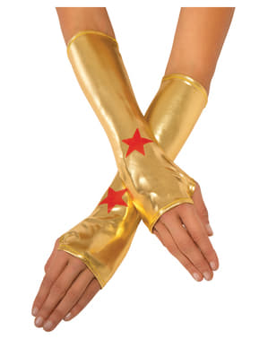 Womens Wonder Woman gloves