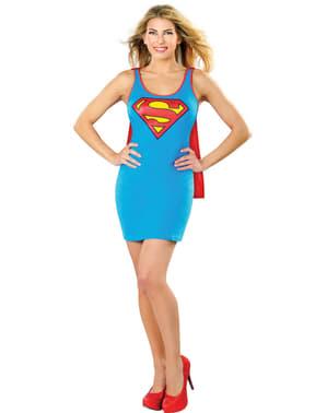Vestido disfraz de Supergirl DC Comics para mujer