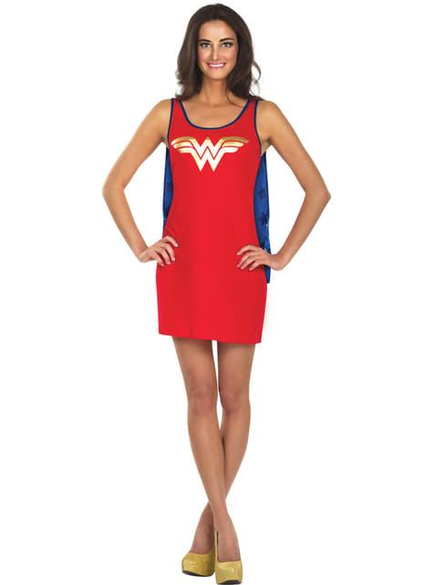 Vestido disfraz de Wonder Woman DC Comics para mujer