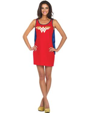 שמלת נשים וונדר וומן DC קומיקס תחפושת