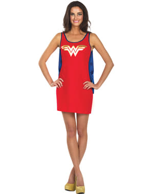 Женский костюм-платье Wonder Woman DC Comics