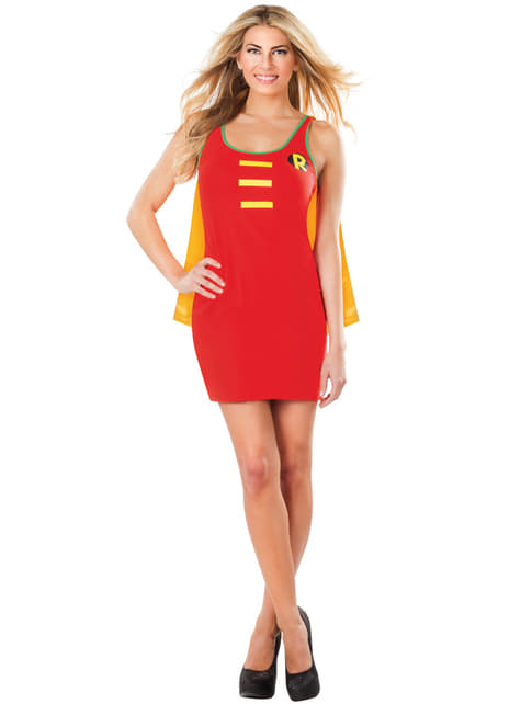 Womens Robin DC Comics costume dress