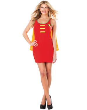 Vestido disfraz de Robin DC Comics para mujer