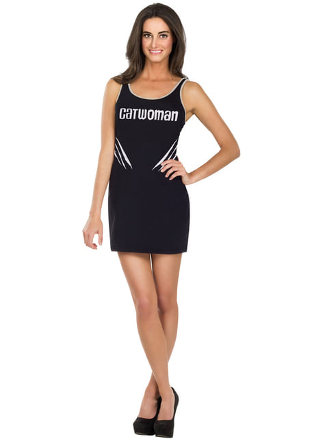 Vestido disfraz de Catwoman DC Comics para mujer
