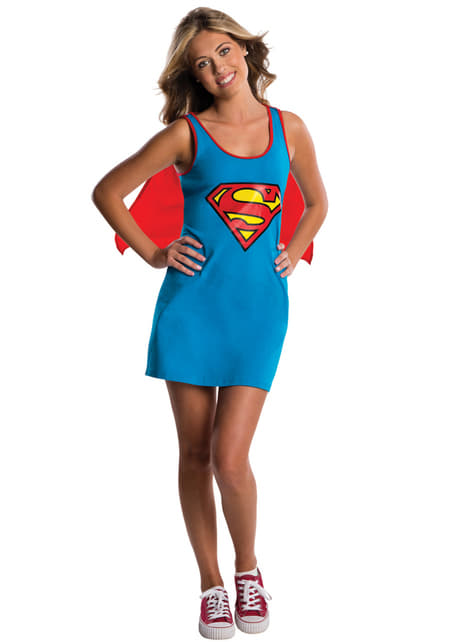 Teen girls Supergirl DC Comics costume dress