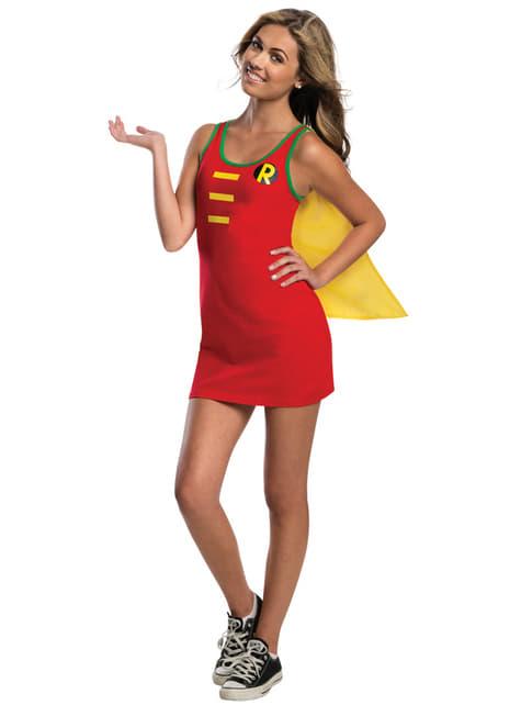 Jurk kostuum Robin DC Comics voor tieners