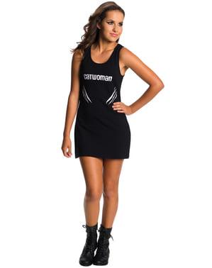 十代の女の子のキャットウーマンDCコミックス衣装ドレス