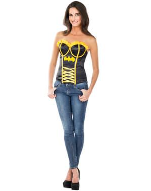 Womens sexy Batgirl corset