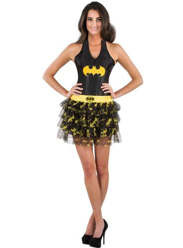 batgirl rock mit pailetten f r jugendliche f r kost m funidelia. Black Bedroom Furniture Sets. Home Design Ideas