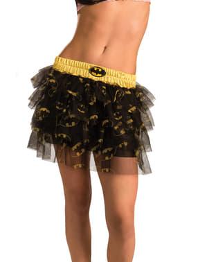 Saia com lantejoulas de Batgirl para mulher