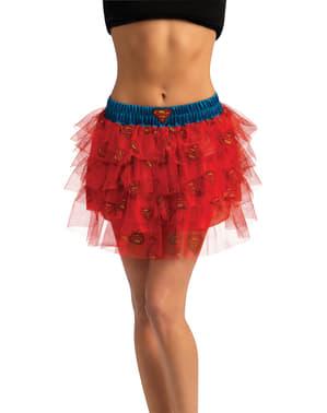 Falda con lentejuelas de Supergirl para mujer