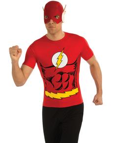 Kit disfraz de Flash DC Comics para hombre d738ebf4e6f