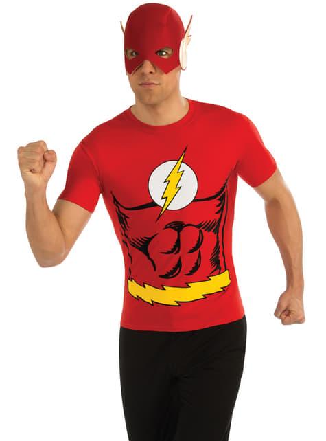 Kit disfraz de Flash DC Comics para hombre