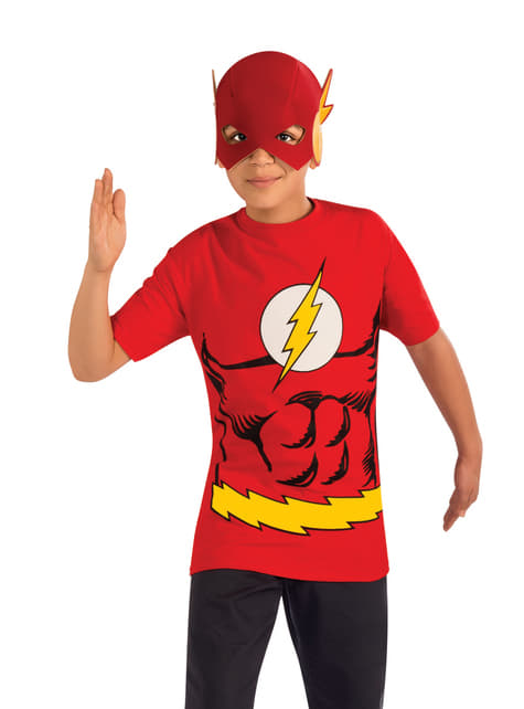 Kit fato de Flash DC Comics para menino