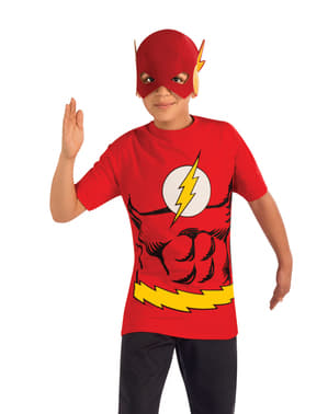 Kit disfraz de Flash DC Comics para niño