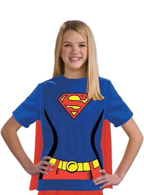Kit disfraz de Supergirl DC Comics para niña