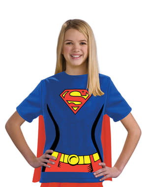 Kit costume Supergirl DC Comics bambina